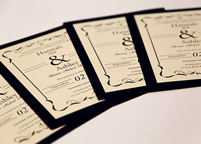 Wedding Stationary gallery images